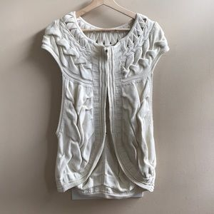 Anthropologie (Moth) Knitted Vest - S/M